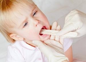 Гнойная ангина без температуры у ребенка